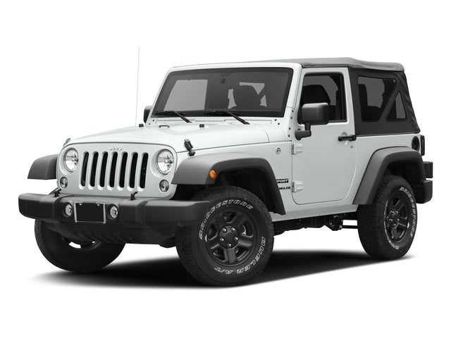 2017 Jeep Wrangler Sport In San Antonio Tx Mccombs Ford West